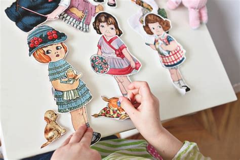 How To Make Fabric Paper Dolls - 729 best paper dolls images on paper picasa