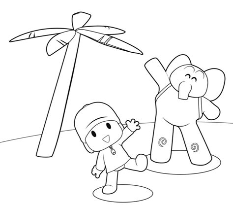 Pocoyo Coloring Pages Free Printable Coloring Pages Coloring For