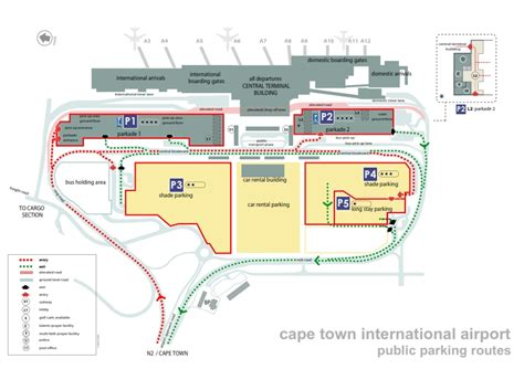 Guest House Floor Plan by Cape Town International Airport Map