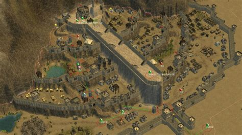 the siege 2 stronghold crusader 2 the siege of minas tirith