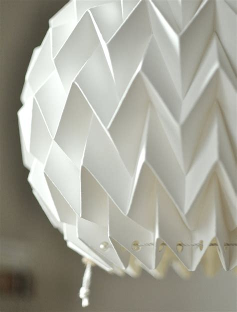 How To Make Origami Lshade - origami paper l shade white fiberstore by