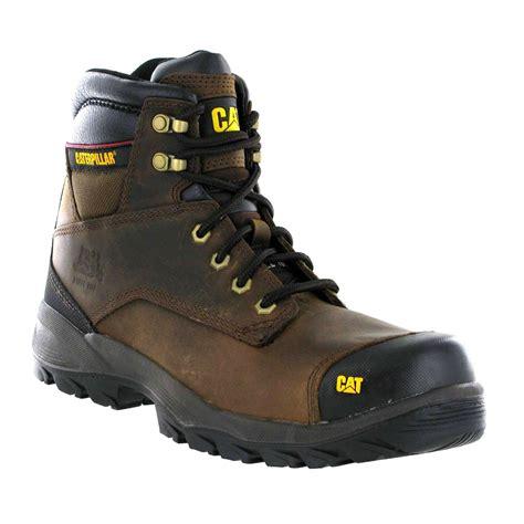 Caterpillar Alinskie Safety Boots caterpillar spiro srx brown leather s3 mens safety work boots