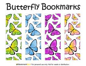 world book day bookmark template printable butterfly bookmarks
