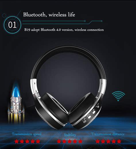 Zealot B19 Wireless Headset Bluetooth Headphone With Tf Fm Radio Zealot B19 Digital Display Stereo Tf Card Fm Radio Aux Wireless Bluetooth Headset Headphone With