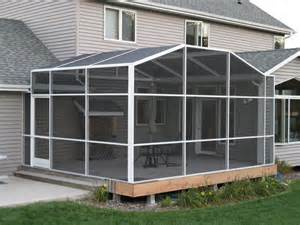 porch enclosures screen systems
