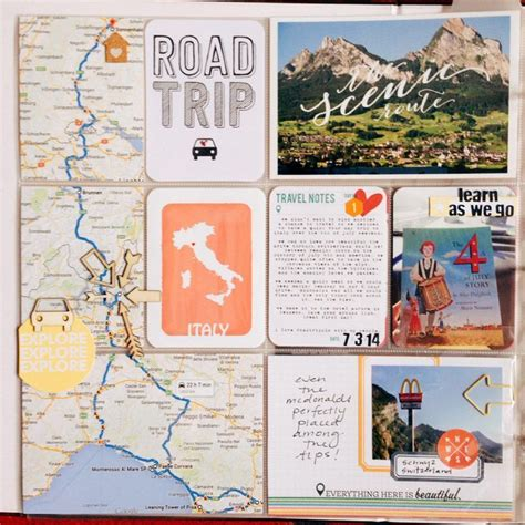 scrapbook layout idea books 466 best vacation travel scrapbooking images on pinterest