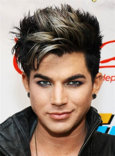 Adam Lambert Hairstyle by Adam Lambert Hairstyle Hairstyles Dwayne The Rock