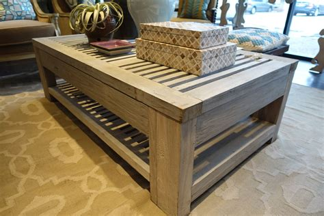 Teak Outdoor Coffee Table Slatted Reclaimed Aged Teak Outdoor Coffee Table Mecox Gardens