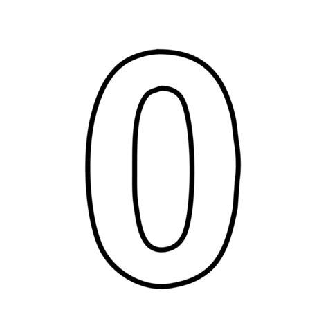 Numero Zero lettere e numeri numero 0 zero statello