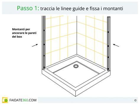 montaggio piletta doccia installare una doccia come montare piatto box colonna e