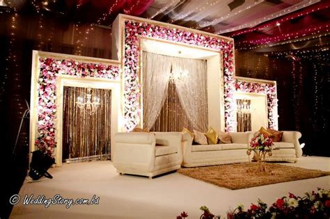 68  Creative Wedding Stage Background   Creative Wedding Stage Props Silk Rose Tracery Wall