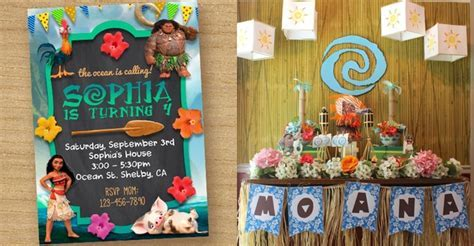 Moana Birthday Party Inspiration Board ? Party Ideas PH