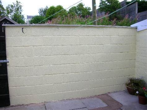 Garden Wall Paint Build A Garden Wall Diy Building