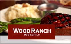buy wood ranch gift cards raise - Wood Ranch Gift Card