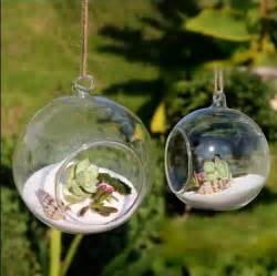 Round Glass Vases Wholesale 10pcs Lot Modern Hanging Clear Round Crystal Glass Vase