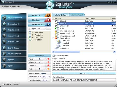 free spyhunter malware removal tool spy hunter spyware remove 3 0 screenshots