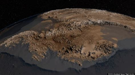 Out Of This World Without Any Space Influence In Sight by Antarctica Without Photos Shows Continent S Rocky