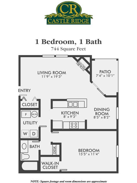 1 bedroom apartments in one bedroom apartments for rent castle ridge apartments