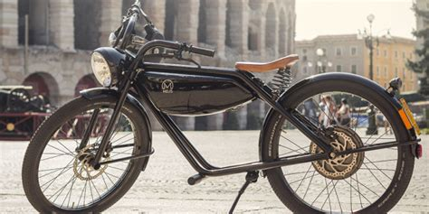 Elektro Motorrad Retro by Meijs Motorman Design Retr 242 Per La Motocicletta Del