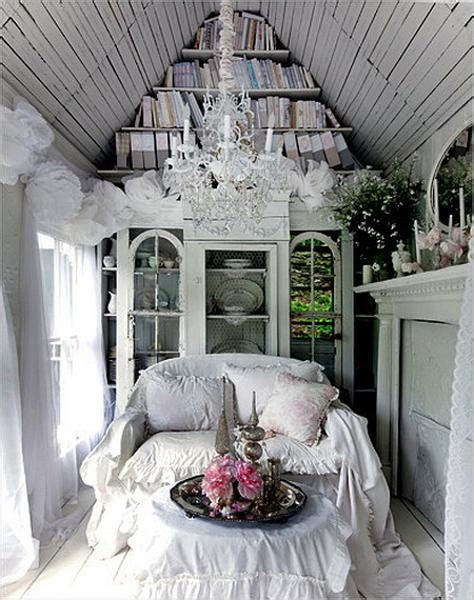 Shabby Chic Ideas Turning Garden House Into Beautiful Shabby Chic Garden Decorating Ideas