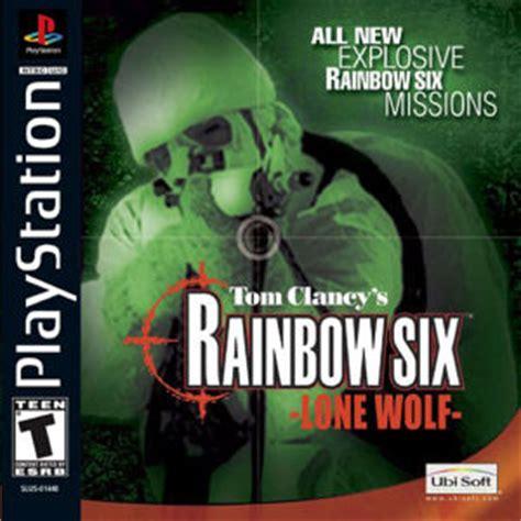 emuparadise nintendo takedown rainbow six lone wolf sony playstation