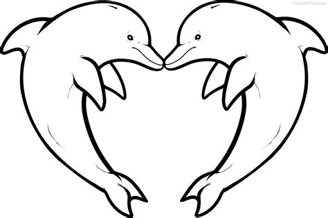 Dolphin Coloring Pages Download And Print For Free Dolphins Coloring Page