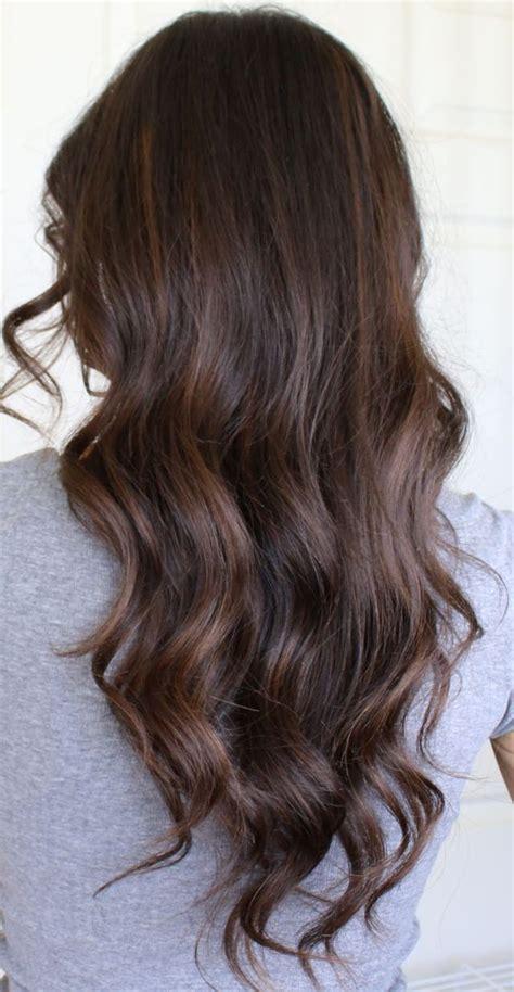 diy auburn highlights for brown hair auburn balayage highlights on brunette hair balayage