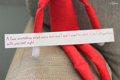 printable elf excuses printable elf on the shelf excuses love and marriage