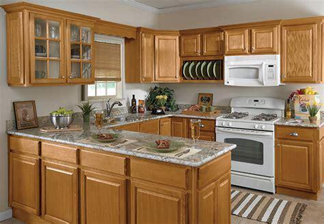 Randolph Sunco Cabinets Light Oak Kitchen Cabinets