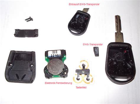 Bmw 1er Batterie Leer Tür öffnen by Generation Ii Schl 252 Ssel Anstatt Generation I Bmw E39