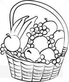 basket of fruit clipart picnic clipart