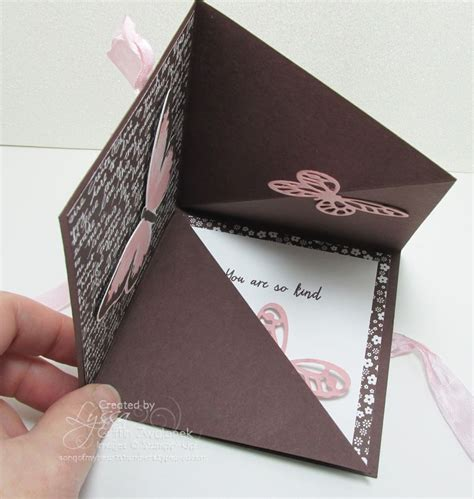 tutorial carding mailer new easy quot squash fold quot card video tutorial song of my