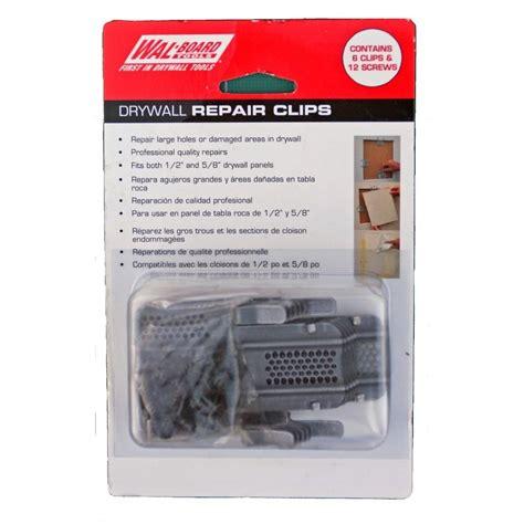 Wal Board Tools Drywall Repair Clip (6 Pack) 54 014   The