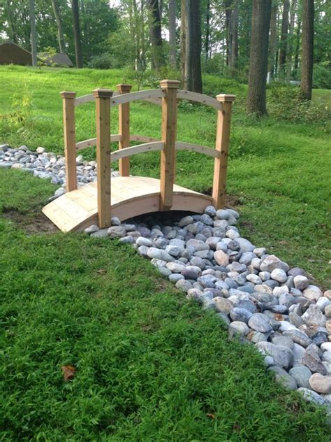 Drainage Rock For Sale Landscaping And River Rock Drainage Swale Traditional