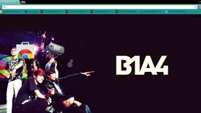 theme chrome b1a4 u kiss 7th mini album chrome theme themebeta