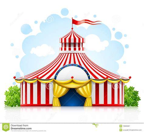 imagenes de reflexion el circo tienda rayada de la carpa del circo que da un paseo con el