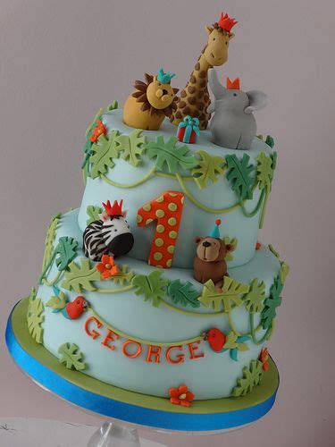 zoo themed birthday cake ideas zoo themed cake ideas for first birthday parties