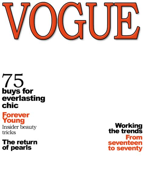 blank vogue magazine cover www pixshark com images