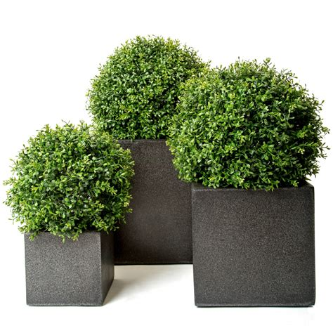 artificial topiary outdoor boxwood balls buxus
