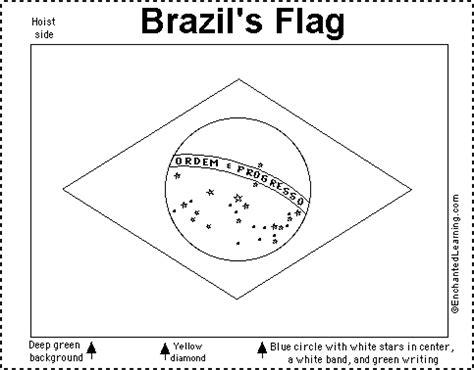 brazil s flag quiz printout enchantedlearning com