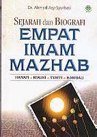 Kitab Lengkap Biografi Empat Imam Mazhab toko buku rahma sejarah dan biografi empat imam mazhab