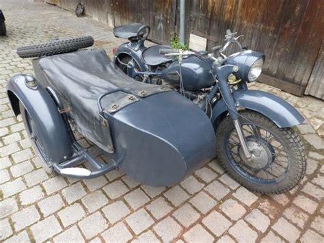Oldtimer Motorrad Neue Papiere by Dnepr K 750 Gespann Papiere T 220 V Oldtimer Seitenwagen
