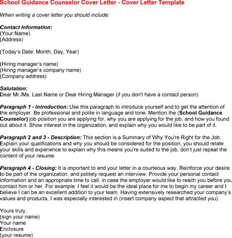 school counselor cover letter resume badak