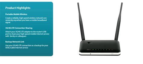 Wireless N300 Multi Wan Router 3g 4g Via Usb Modem Dwr 116 d link dwr 116 wireless n300 3g 4g multi wan router dwr