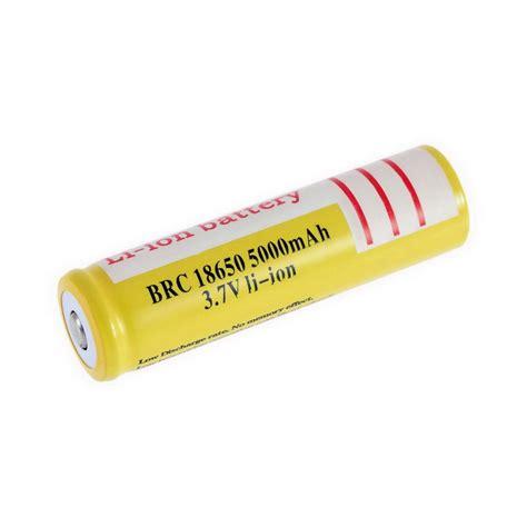 Huahui Rechargeable Lithium Ion Battery 3 7v 18650 3 7v 5000mah li ion rechargeable li ion battery for led flashlight ob ebay