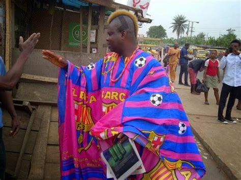 nigeria fc meet fc barcelona s fan in lagos quot igwe barca