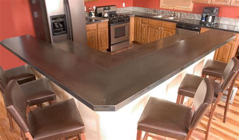 carbon steel counter tops ben roth design