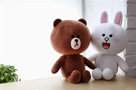 Brown Cony 03 sns line friends brown cony cuddle plush stuffed