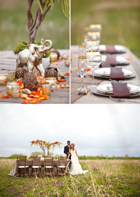 african themed decor african inspired wedding ideas wedding obsession