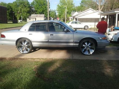 grand on 24s buy used mercury grand marquis on 24s in columbus